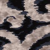 Ornament Blau-Beige 46%Viskose,54%Polyester 67