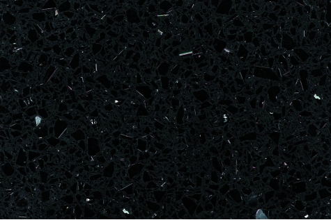 Starlight Black quartz