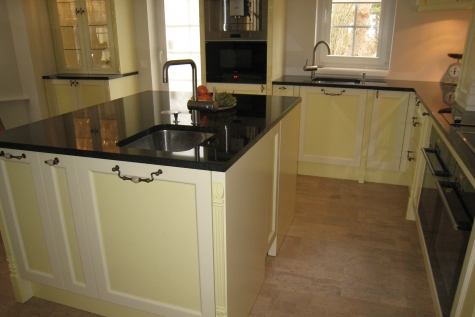 Granite Nero Assoluto Is High Quality Material For Kitchen Worktops